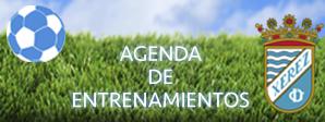 Agenda de Entrenamientos