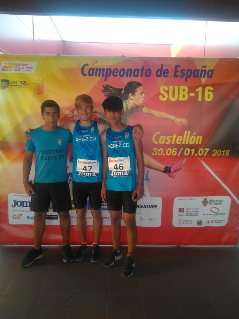 La Cantera Del Atletismo Xerez Cd Presente En La 233 Lite