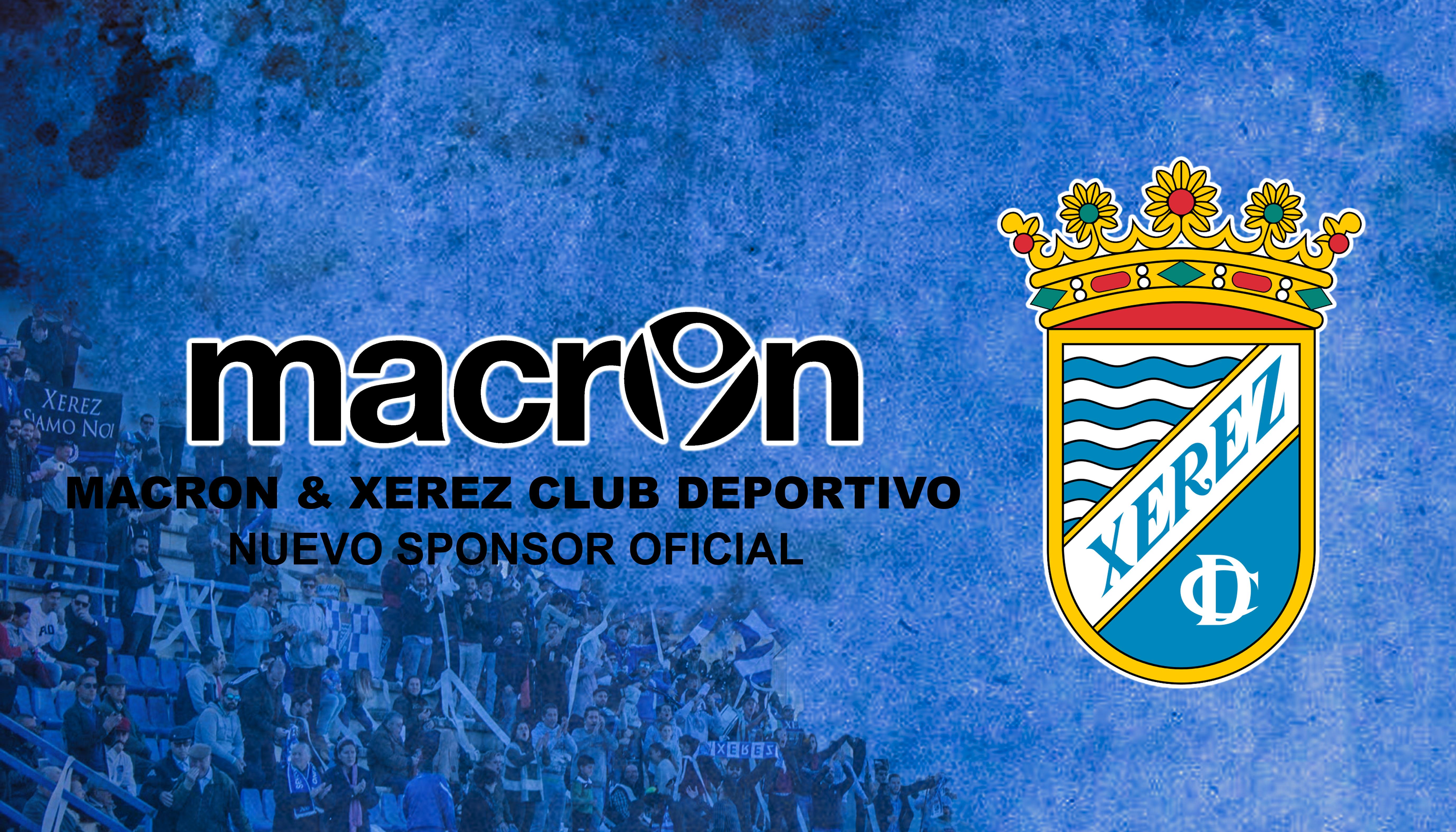 Macron será la marca deportiva que vestirá esta temporada al Xerez Club Deportivo