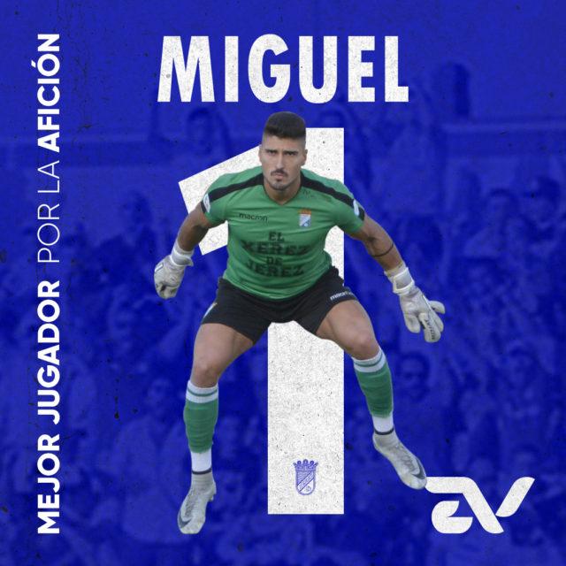 Miguel Guerrero: «A todo jugador le gusta que valoren así tu trabajo»