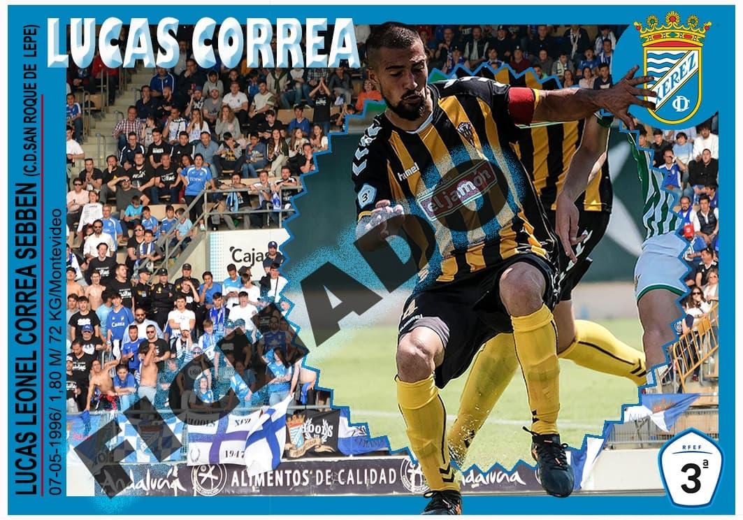 Lucas Correa nuevo jugador del Xerez CD